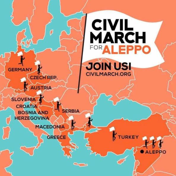 logo CIVIL MARCH toda la marcha!!!