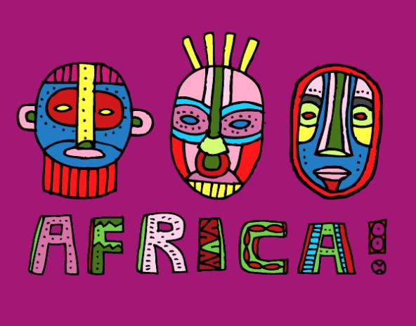 logo africa tribus-de-africa-morado