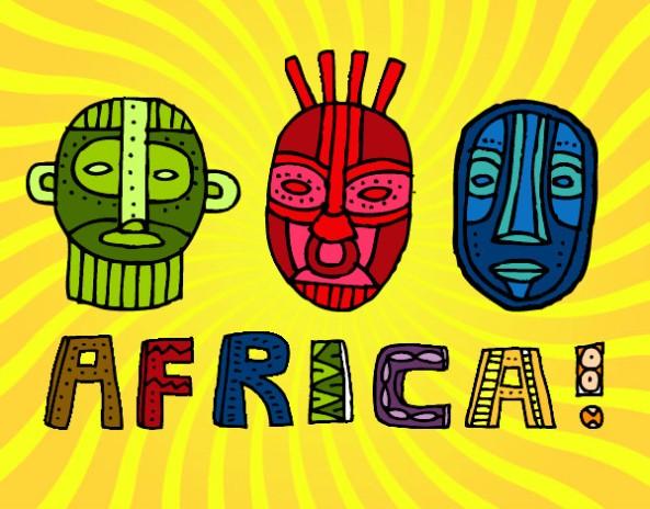 logo africa tribus-de-africa-culturas-africa-pintado-por-federicc