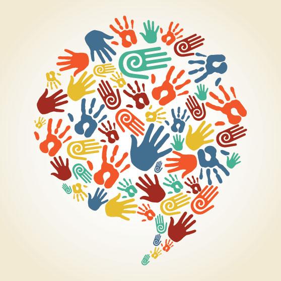 logo icono diversidad cultural
