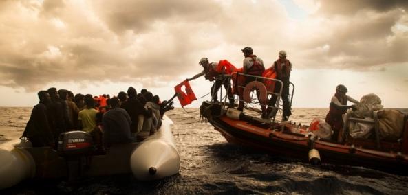 logo MSF mediterraneo
