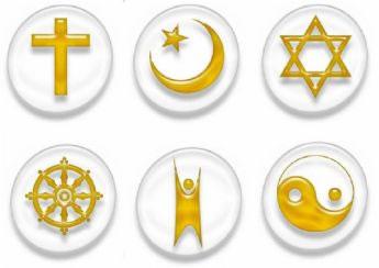 logo icono religión