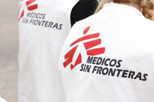 logo medicos sin fronteras logo camiseta