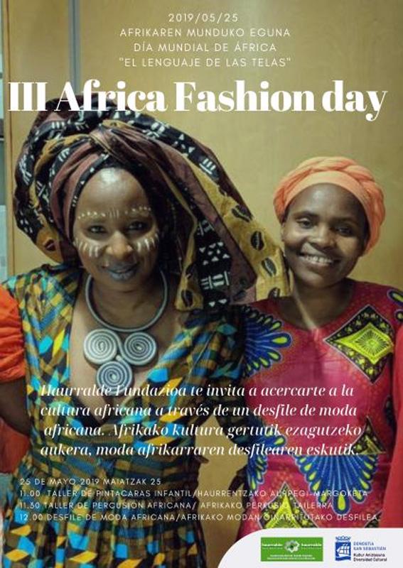 logo haurraldeafrica fashion day 2019